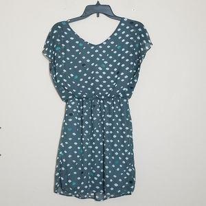 Lush Gray Polka Dot summer dress size S